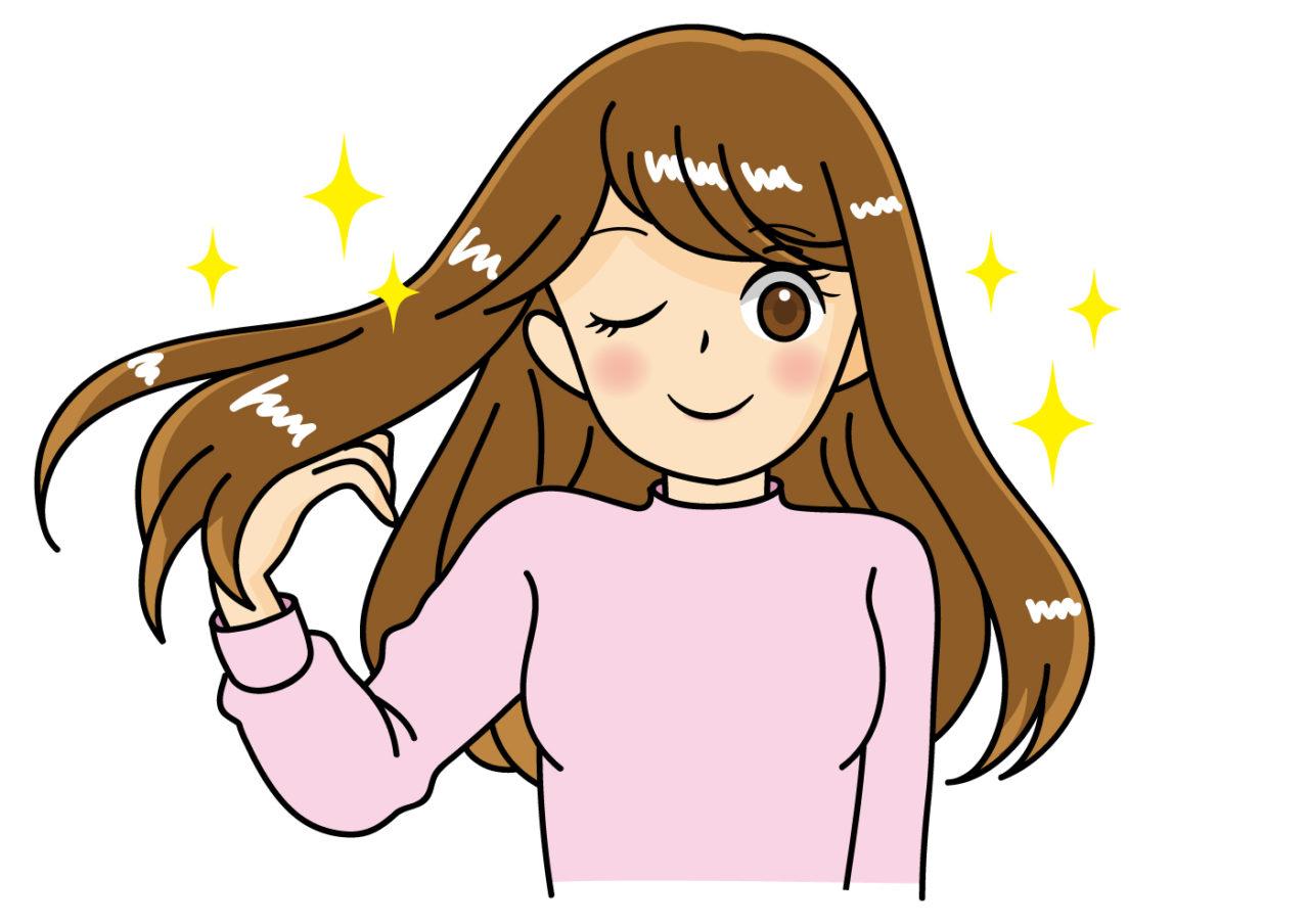 髪 イラスト