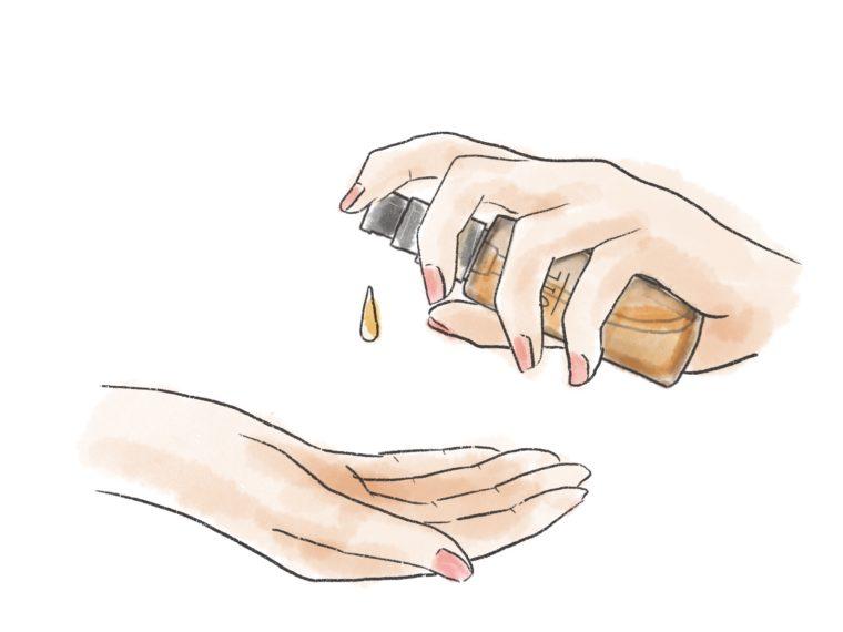 ヘアオイルの効果について